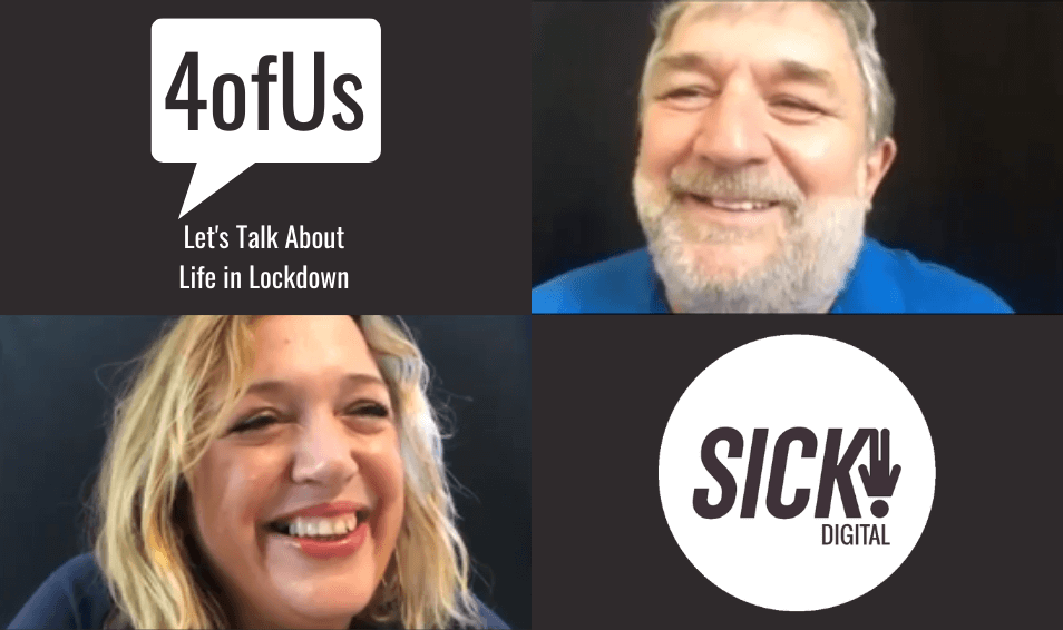 4OFUS EPISODE 2: FAITH & SUPPORT – SIDDIQ DIWAN & LAURENCE GAMBELLA