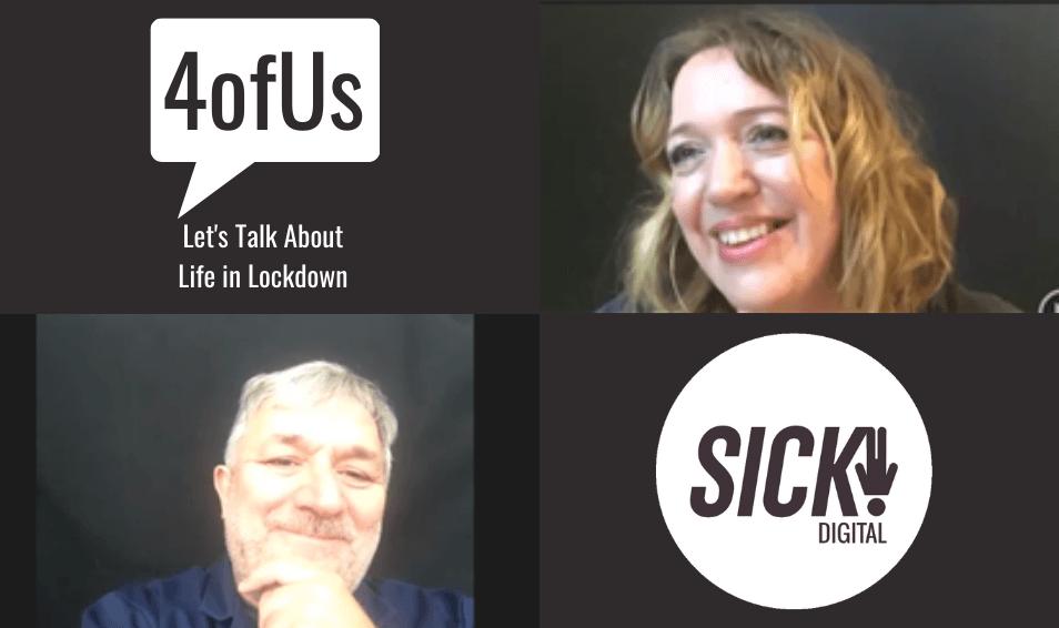 4OFUS EPISODE 4: HEALTHCARE – CLIVE PARKINSON & KATIE AWDAS